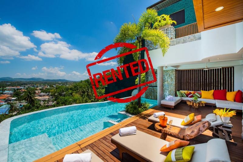 Picture Bang Tao 5 Bedroom Sea View Pool Villa for Long Term Rental