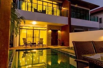 Photo Villa de luxe avec piscine pour des location de vacances à Kamala Phuket
