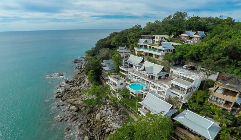 Picture Luxury sea front villa for rent in Kamala, Phuket