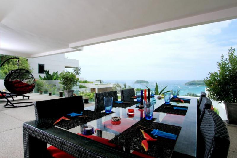 Picture Phuket Luxury Sea View 2 Bedroom Penthouse for Sale in Kata, Phuket