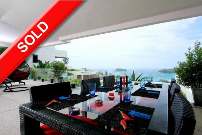 Photo Luxueux penthouse avec 2 chambres à vendre à Kata, Phuket