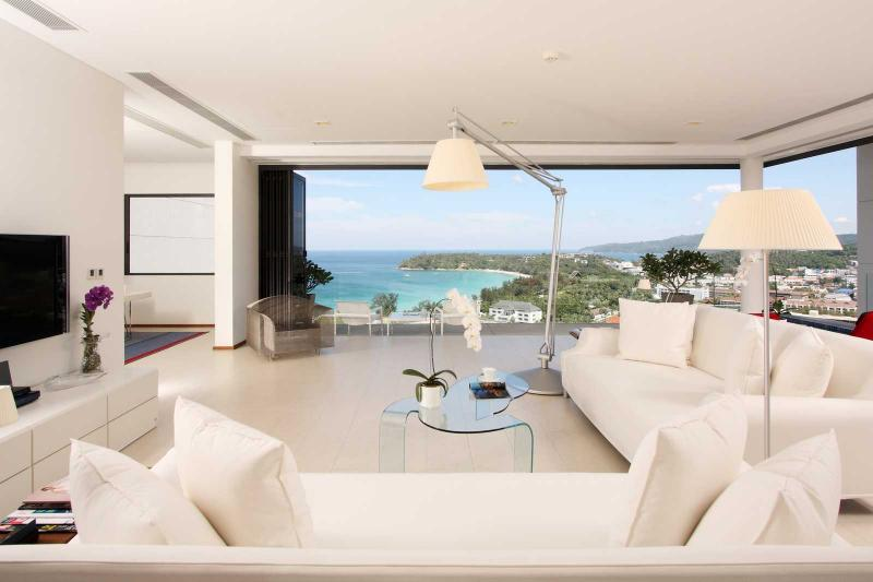 Picture Phuket Luxury Sea View 3 Bedroom Penthouse for Sale in Kata, Phuket