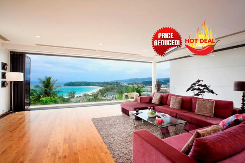 Picture Phuket Luxury Sea View 3 Bedroom Pool Apartment for Sale in Kata