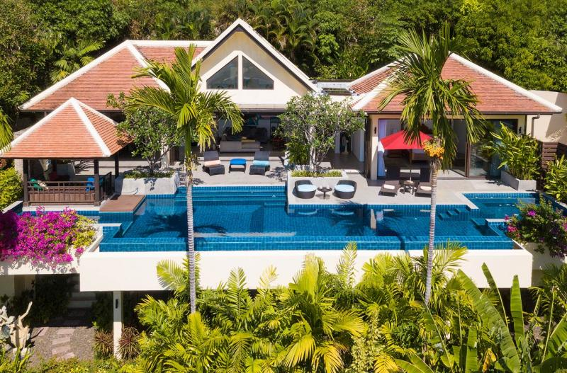 Picture High end luxury 4 Bedroom Pool Villa with Sea View for Sale in Kalim, Phuket