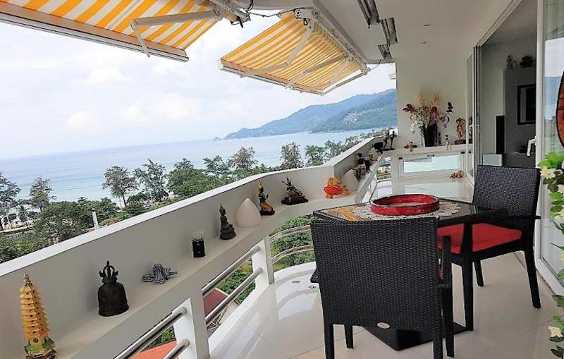 Picture luxury Sea-View Apartment in Patong Beach for sale