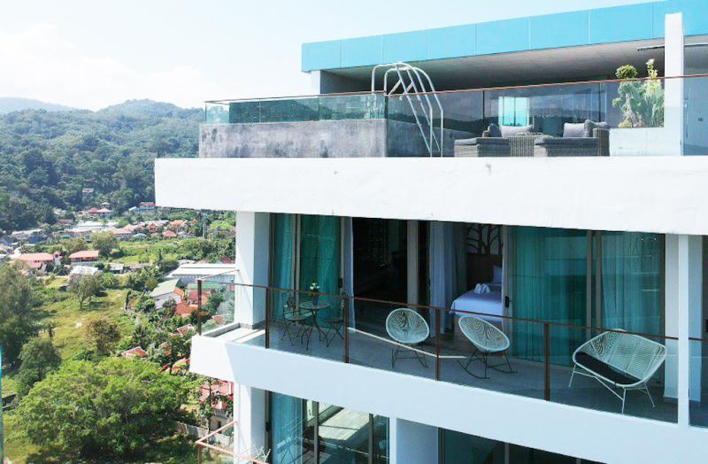 Photo Appartement de luxe avec vue mer et piscine privée à louer pour les vacances à Kamala
