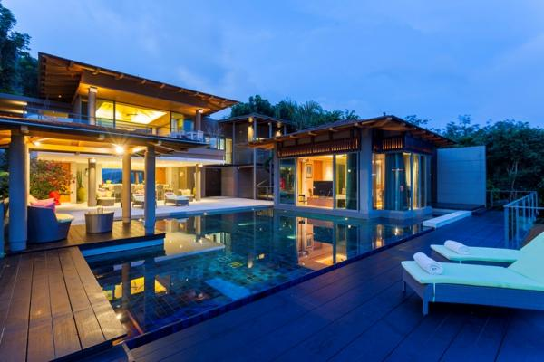 Picture Luxury sea view villa to rent in Layan,Phuket