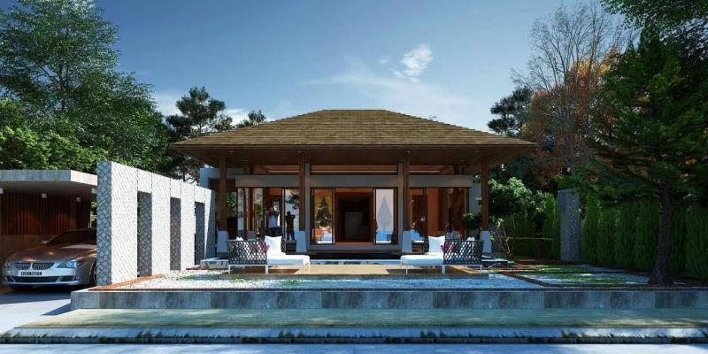 Picture Phuket Luxury villas Layan for sale with high return rental opportunity