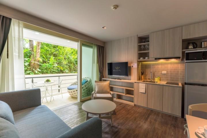 Photo Condo moderne entièrement meublé de 1 chambre à louer à Karon