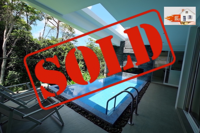 Picture Modern 2 bedroom pool villa for sale in Kamala with an unbeatable price !!!
