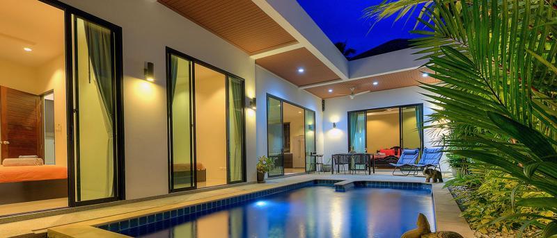Photo Villa moderne et entièrement meublée avec piscine de 3 chambres à vendre à Rawai