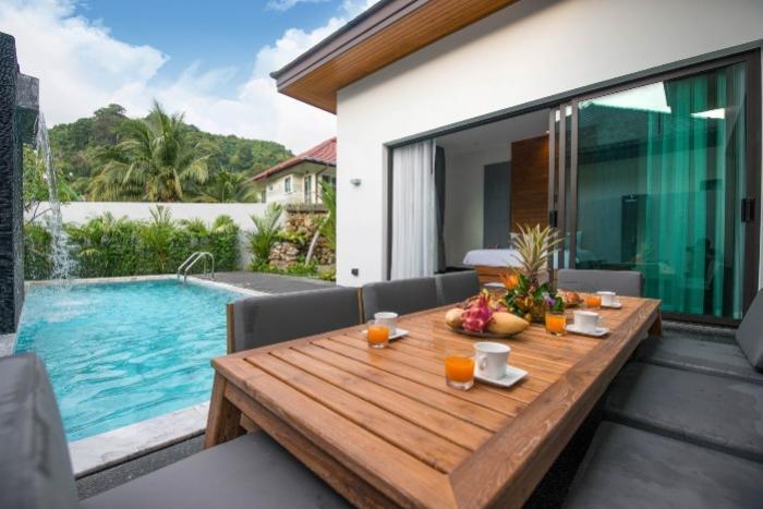 Photo Villa moderne de 3 chambres avec piscine privée à vendre à Kamala, Phuket