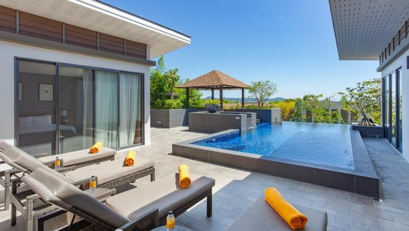 Picture 4 Bedroom Sea View Villa for Rent in Rawai Phuket