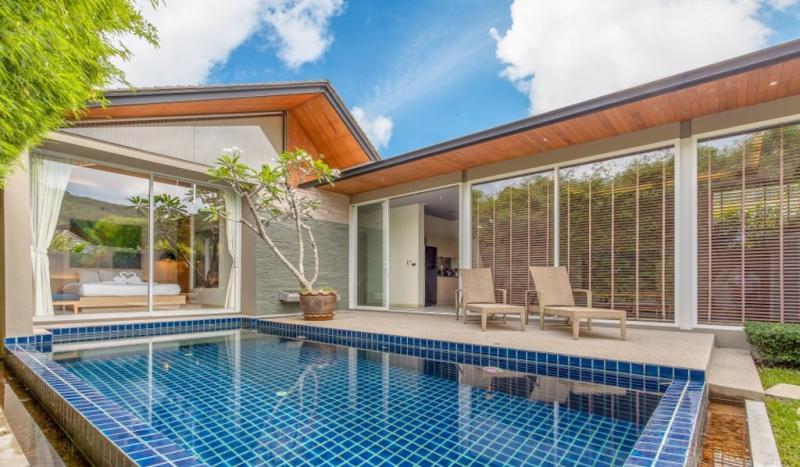 Photo Villa de luxe  avec 2 chambres et piscine à vendre à Layan, Phuket