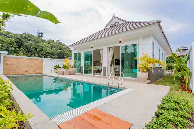 Picture New stylish 3 bedroom pool villas for sale in Kamala