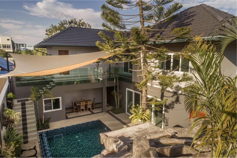 รูปภาพ ขายบ้านใหม่พร้อมสระว่ายน้ำภูเก็ต 4 ห้องนอนในราไวย์