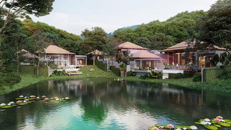 Photo Villa de luxe au bord du lac avec 5 chambres à vendre à Layan, Phuket