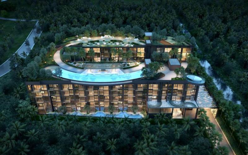 Photo Nouveau projet d'appartement de luxe situé à Kamala Beach