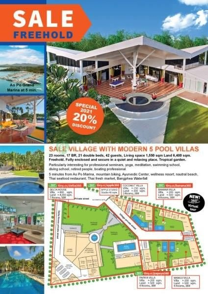 Photo 5 villas de luxe à vendre à Paklok, Phuket, Thailande