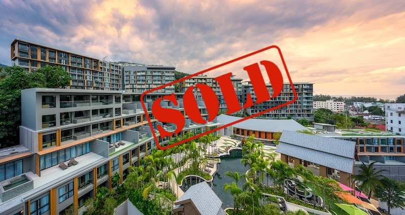 Picture Best Sea View 1 Bedroom Apartment for Sale at the Panora Phuket in Surin Beach