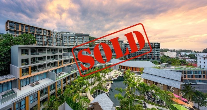 Photo Meilleure offre pour un appartement avec vue mer à vendre au Panora Phuket à Surin Beach