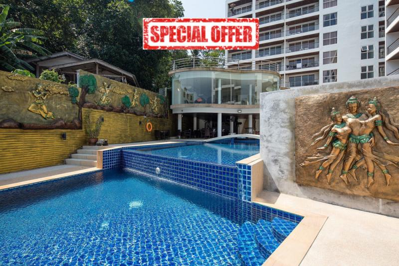 Picture Patong Beach fully furnished studio apartment for Sale with an unbeatable price