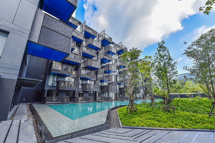 Picture New luxury 2 bedroom apartment for sale in Patong Beach