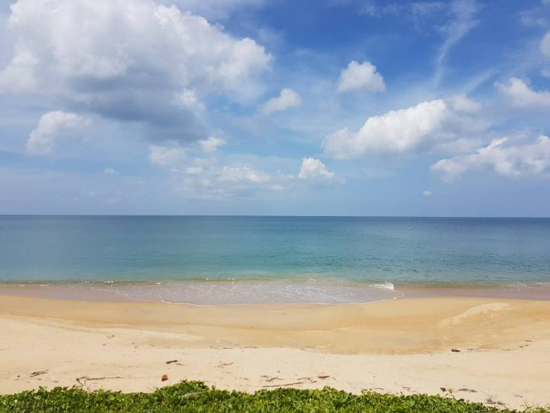 Picture Beachfront Land for Sale in Natai Beach, Phang Nga
