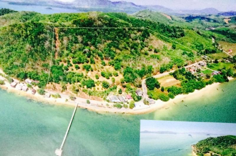 Photo Vente terrain en front de mer à Phang Nga, Thaïlande