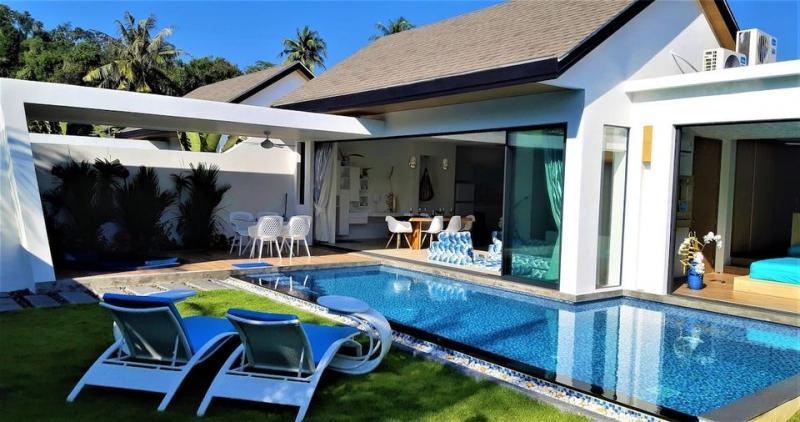 Photo Villa de luxe avec piscine de 2 chambres à louer près de la plage de Nai Yang