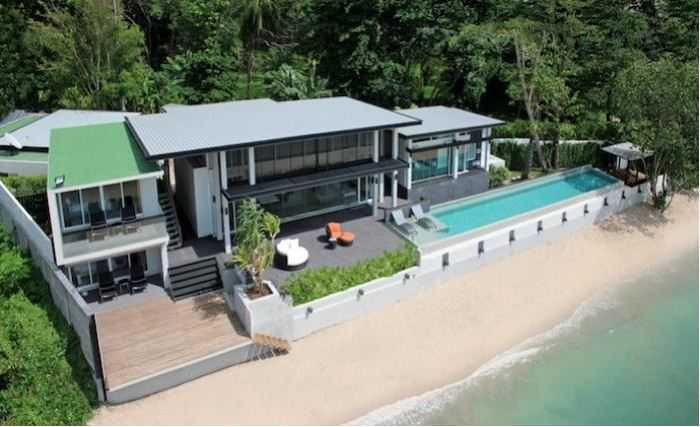 Picture Kamala Exclusive Beachfront villa on Millionaire's miles