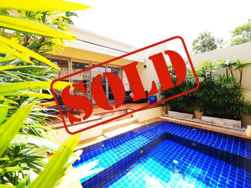 Picture Phuket Cheap Pool Villa for Sale in Bag Tao beach