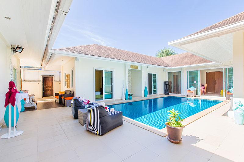 Photo Phuket-Villa de 4 chambres avec piscine à louer ou à vendre à Chalong