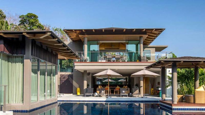 Photo La Colline - Villa de luxe avec piscine et vue mer à Layan - Phuket