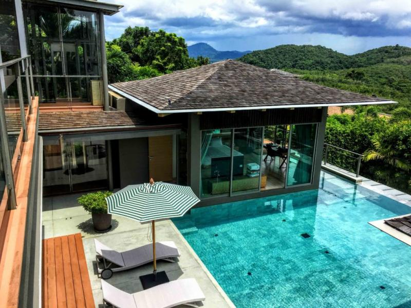 Picture Phuket Exclusive villa with sea view for Sale in Layan - La Colline