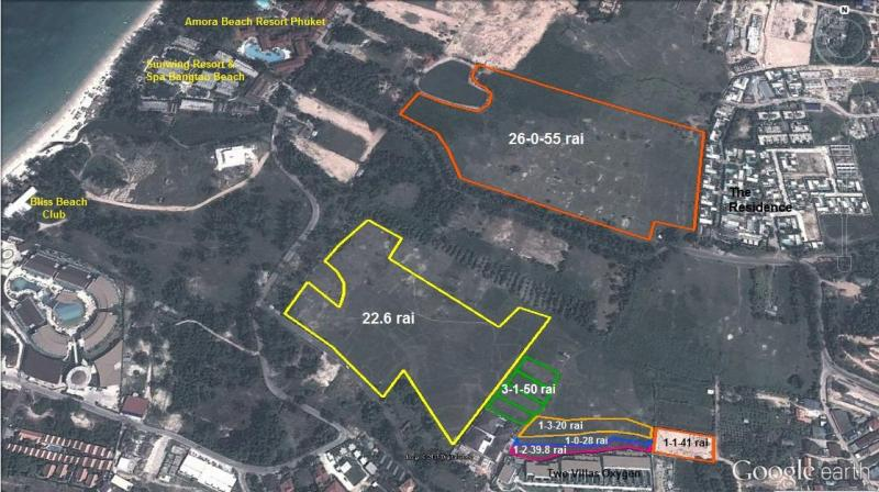 Picture Bang-Tao prime location land for sale