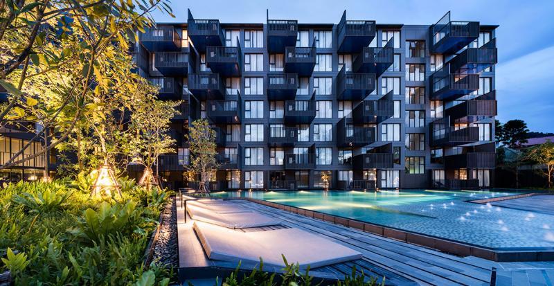 Photo Appartement de luxe avec 1 chambre à louer à Patong avec toutes les commodités