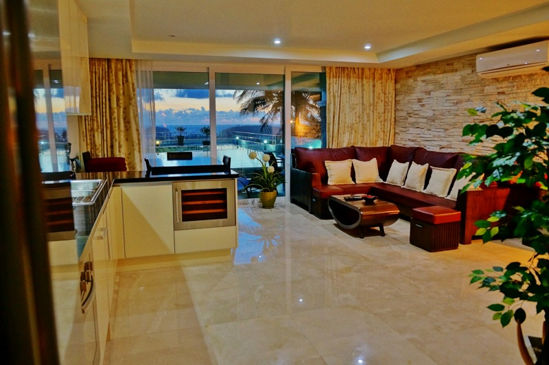 Picture  2 bedroom sea view apartment for rent in Kata-Phuket