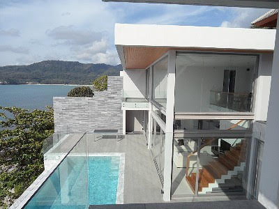 Picture Phuket top beachfront luxury villa for rent in Kamala, Phuket, Thailand