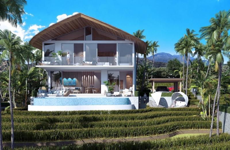 Photo Villas de luxe neuves avec piscine à vendre à Kamala, Phuket