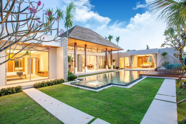 Photo Villa de luxe neuve avec 3 chambres et piscine à vendre à Layan, Phuket