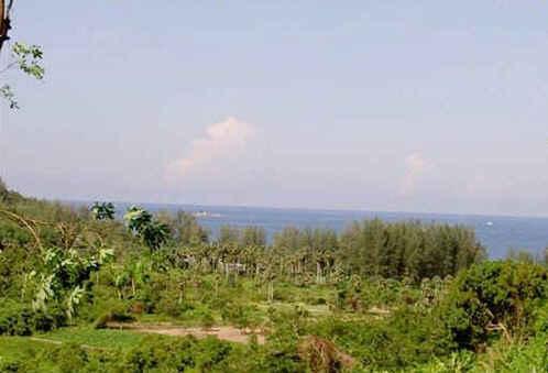 Photo Terrain avec vue mer à vendre près de la plage de Nai Thon, Phuket, Thailande