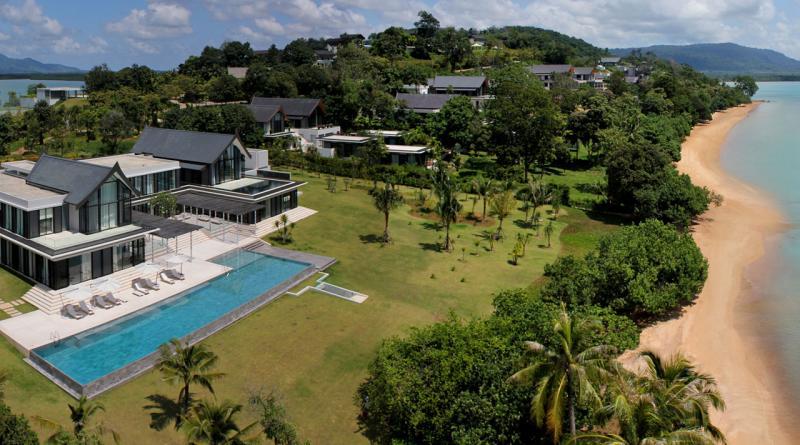 Photo Villa ultra luxueuse avec plage privée à vendre à Phuket