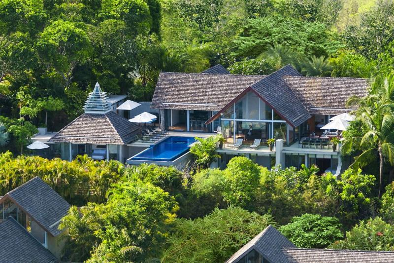 Picture Exclusive Sea View Villa for sale in Kamala, Millionaire road, Phuket