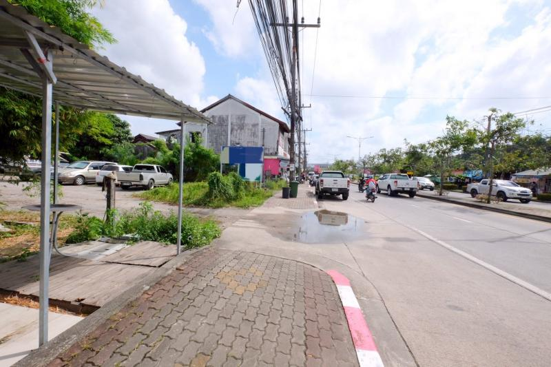 Picture Land for sale in Phuket Town, situated on a main and busy road