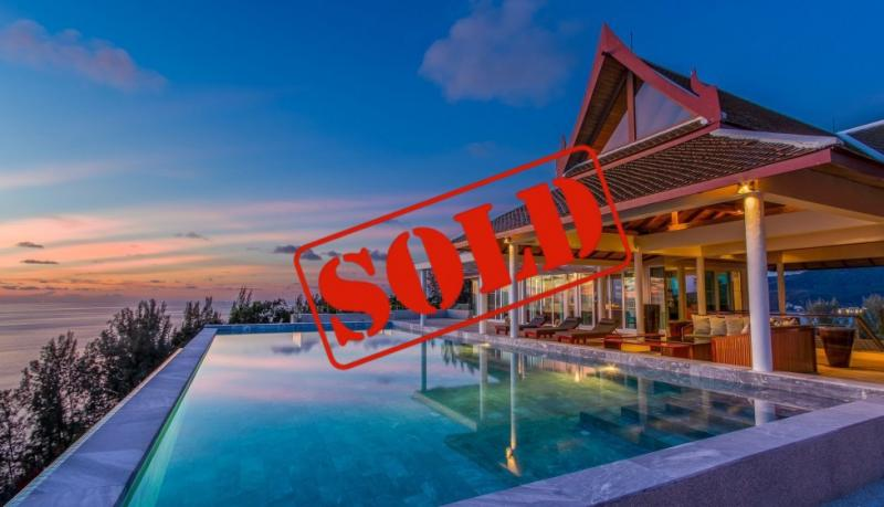 Picture Exclusive Luxury Panoramic Sea View Villa for sale in Kamala, Phuket