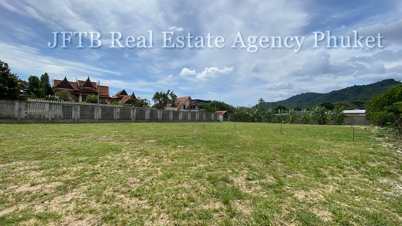 Picture Land with an area of 3869 Sqm for sale in a convenient location of Rawai
