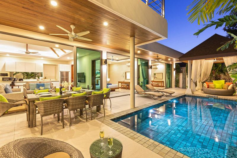 在拉威的现代豪华住宅开发项目中出售的新 3 卧室别墅