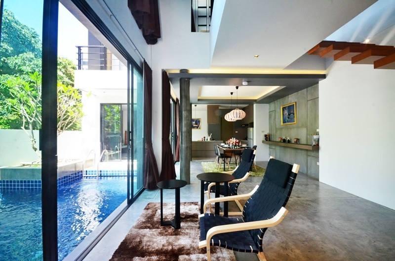 Photo Villa de luxe avec 2 chambres à vendre à Rawai, Phuket
