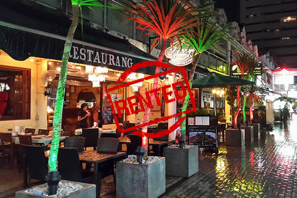 Picture Hotel and Restaurant for Lease on Patong Beach Main Road